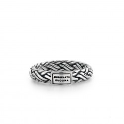 Buddha to Buddha 605-15 katja Small Silver Ring 605 MAAT 15 - 41150