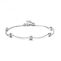 Rosa di luca Zilveren armband met zirkonia MAAT 19 - 47858