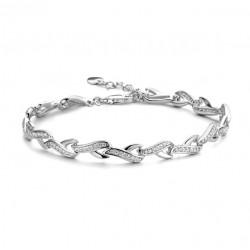 Rosa di luca Zilveren armband sierschakel met zirkonia MAAT 19 - 47855