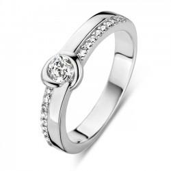 Rosa di luca Ring met zirkonia MAAT 17 - 47841