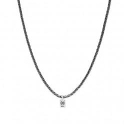 Buddha to Buddha 718BRS George XS Necklace Black Rhodium Silver 60CM - 47596