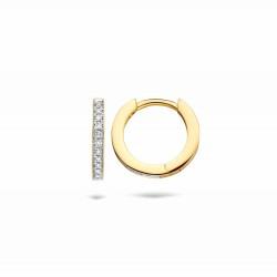 Blush Diamonds Oorringen 7612BDI Geelgoud met Diamand - 47247