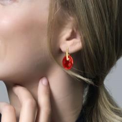 Blush Oorbedel 810RAGO Red Agate - 46181