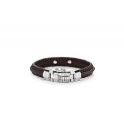 Buddha to Buddha 816BR-E Nurul Small Leather Brown Bracelet MAAT 19cm - 41093
