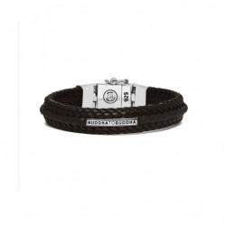 Buddha to Buddha 816BR-F Nurul Small Leather Brown Bracelet MAAT 21cm - 41010