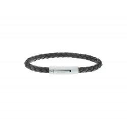AZE JUNIOR kinderarmband Iron Single String Black MAAT 16,5cm - 47765
