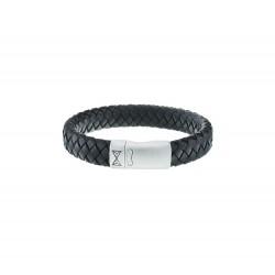 AZE JEWELS Armband IRON JACK BLACK MAAT 21cm - 45973