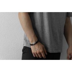 AZE JEWELS Armband IRON JACK BROWN 22,5cm - 48222