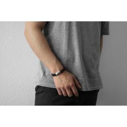 AZE JEWELS Armband IRON JOHN BROWN MAAT 21cm - 46455