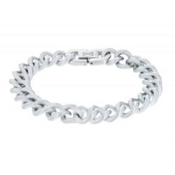 AZE Jewels GOURMETTE SATIN - INOX 10MM - 47092