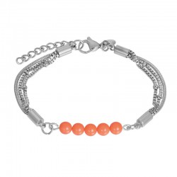 iXXXi Bracelet Fantasy Zilverkleur - 47351