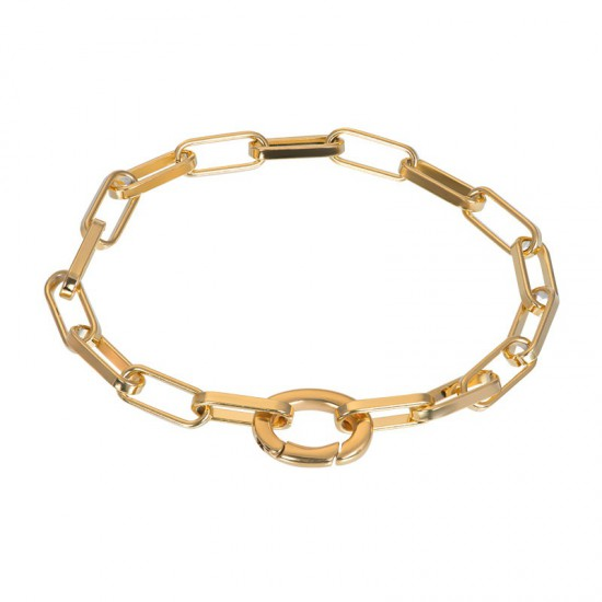 iXXXi Bracelet Square Chain Goudkleurig - 47352