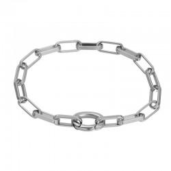 iXXXi Bracelet Square Chain Zilverkleur - 47354
