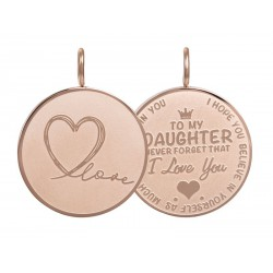 iXXXi Pendant Daughter Love big Rosékleurig - 47369
