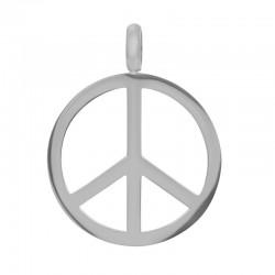 iXXXi Pendant Peace Zilverkleur - 47376