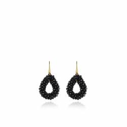 LOTT. Gioielli BLACK GLASSBERRY DROP XS EARRINGS SILVER - 46507
