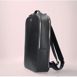 FMME. Laptop rugtas 13.3 inch Claire, Zwart Grain Leer - 47300