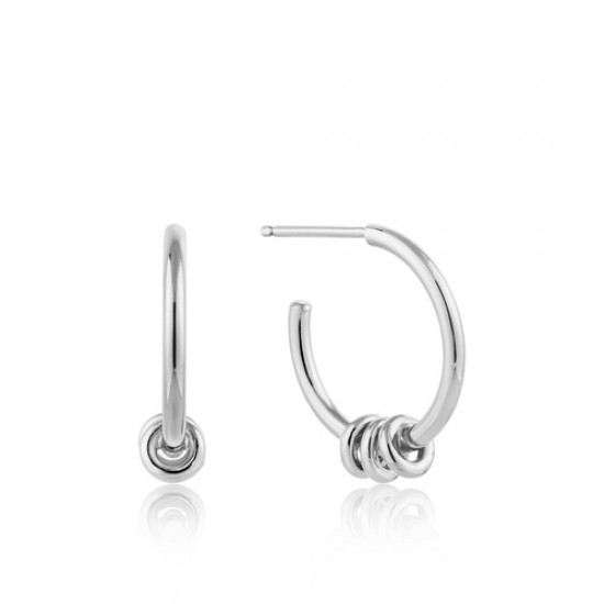 ANIA HAIE Modern Hoop Earrings S - 46163