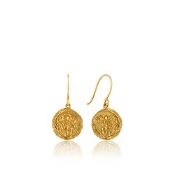 ANIA HAIE Emblem Hook Earrings S - 46042