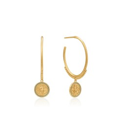 ANIA HAIE Emperor Hoop Earrings M - 46031
