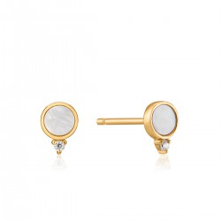 ANIA HAIE Mother of Pearl Stud Earrings S - 46164