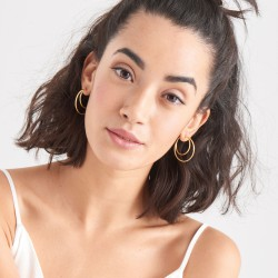 ANIA HAIE Crescent Hoop Earrings - 46951