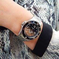 ICE-Watch ICE steel Black sunset silver - 45450