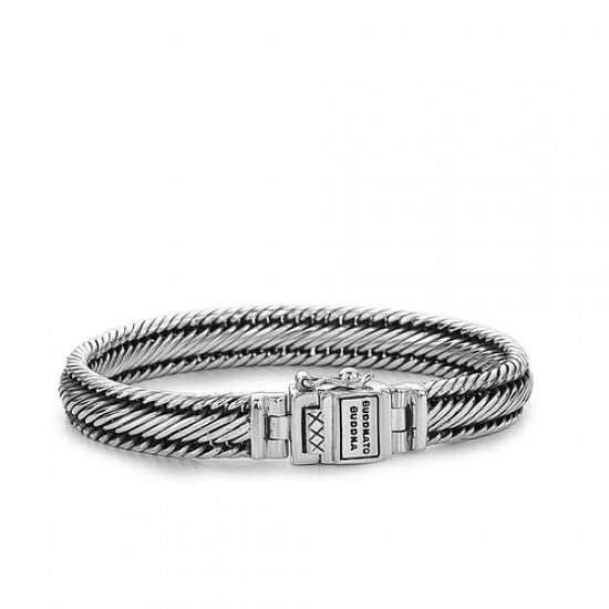 Buddha to Buddha J155-E Edwin xs Bracelet  Silver MAAT 19cm - 42350