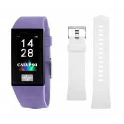 CALYPSO Smartime Watches Paars Fitness Tracker - 47430