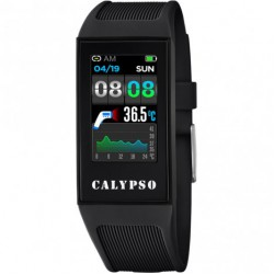CALYPSO Smartime Watches Zwart  Fitness Tracker MET THERMOMETER - 47434