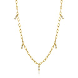 ANIA HAIE Glow Drop Necklace M - 46062