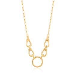 ANIA HAIE Horseshoe Link Necklace M - 46053