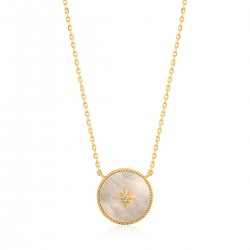 ANIA HAIE Mother of Pearl Emblem Neckl. M - 46157