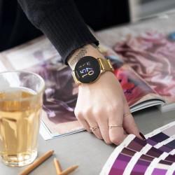 OOZOO Smartwatch 43 mm goudkleur Q00121 - 46924