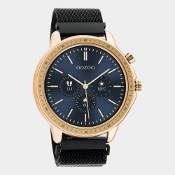 OOZOO Smartwatches  45 mm zwart / rosekleur Q00308 - 40402
