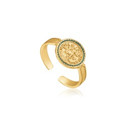 ANIA HAIE Emperor Adjustable Ring S - 46046