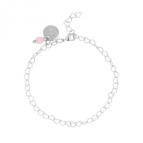 & anne Bracelet Heart Chain Zilver plating - 47622