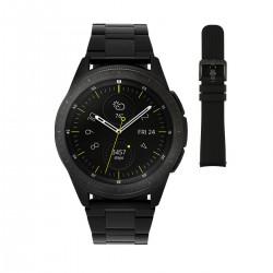 Samsung Special Edition Galaxy Smartwatch BLACK horloge 42mm 2 Horlogebanden - 46344