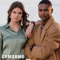 Samsung Special Edition Galaxy 3 Smartwatch Mystic Black 45mm met 3 Horlogebanden - 47022