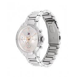 Tommy Hilfiger Horloge Kennedy Staal Zilverkleurig 38mm - 48157