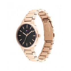 Tommy Hilfiger Horloge Bella Staal Rosékleurig 36mm - 48156