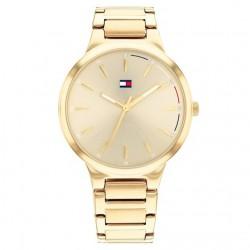 Tommy Hilfiger Horloge Bella Staal Goudkleurig 36mm - 48159