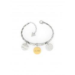 Guess Jewellery Bracelet Peony Art 18.5cm zilverkleur - 46799