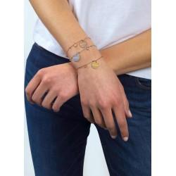 Guess Jewellery Bracelet Peony Art 18.5cm zilverkleur - 46800