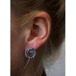 Guess Jewellery Earrings Eternal Circles zilverkleur - 46805