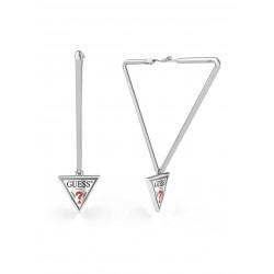 Guess Jewellery Earrings Hula Hoops zilverkleur - 46814