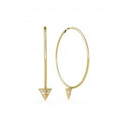 Guess Jewellery Earrings Hula Hoops goudkleur - 46815